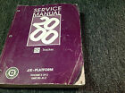 2000 Chevrolet Chevy GEO TRACKER Service Shop Repair Manual VOLUME 2 ONLY OEM