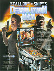 1994 WILLIAMS DEMOLITION MAN PINBALL FLYER