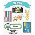 SCRAPBOOK CUSTOMS HAWAII DOO DADS TRAVEL VACATION 3D SCRAPBOOK STICKERS
