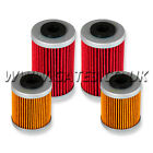 4 X Beta 450RR Enduro 4T 2005-2009 HI-Flo Premium Oil Filters HF155 + HF157