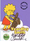 SIMPSONS 10TH ANNIVERSARY A3 YEARDLEY SMITH AUTOGRAPH A