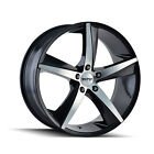 17 Touren TR72 Wheel Rim Black 17x75 5x120 40 3272 7712B