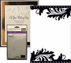 Couture Creations Embossing folders ONLY ONE CO723680 wedding embossing folder