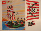 ~ Lego PIRATE SET  6250 Cross Bone Clipper ~ Minifigs & Instructions also