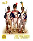 Plastic Toy Soldiers HAT 1/72 1808-1812 Napoleonic French Infantry (100) 8095