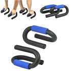 PUSH UP BARS PRESS PULL FOAM GRIP HOME EXERCISE STAND CHEST ARMS FOR GYM FITNESS