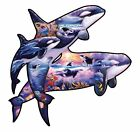 NEW Orcas at Play a 1000-Piece Jigsaw Puzzle by Sunsout Inc.