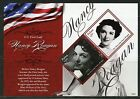 PALAU NEVER BEFORE OFFERED RARE TRIBUTE TO NANCY REAGAN SOUVENIR SHT II   IMPERF