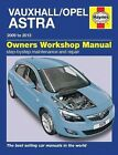 Haynes Manual Vauxhall / Opel Astra Dec 2009 - 2013 5578 NEW