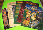 (5) Original Williams NOS Pinball Machine HUGE Posters JackBot No Fear Congo NGG