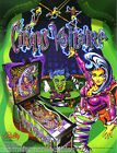 CIRQUS VOLTAIRE By BALLY 1997 ORIGINAL NOS PINBALL MACHINE PROMO SALES FLYER
