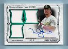 MARK MCGWIRE 2015 TOPPS MUSEUM COLLECTION GAME WORN JERSEY AUTOGRAPH AUTO 30