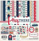 Carta Bella Paper AHOY THERE 12x12 Collection Kit Nautical Sea Scrapbook