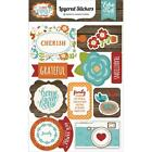 ECHO PARK PAPER CO I LOVE FAMILY LAYERED DIMENSIONAL 3D SCRAPBOOK STICKERS