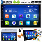 WIFI Android GPS Navigation HD Double 2 DIN Car MP3 Player Bluetooth FM Radio TF