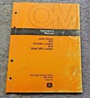 STEEL MILL LOADER TRACTOR OPERATOR MANUAL