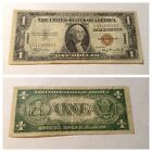 VINTAGE $1 HAWAII 1935-A FEDERAL RESERVE NOTE ONE DOLLAR CURRENCY BROWN SEAL
