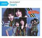 Playlist: The Very Best of Heart (CD, 2008) 14 Tracks Cardboard Case Barracuda