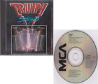 TRIUMPH Stages 1985 [JAPAN] Mid 80s Pressing Oop 2 On 1 CD MCAD2-8020/JVC-432