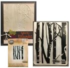 Birch Trees embossing folder Sizzix Tim Holtz embossing folders forest 661405