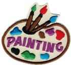 Girl Boy Cub Paints PAINTING Class Project Fun Patches Crest Badges SCOUT GUIDE