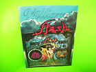 Williams FLASH 1979 Original Pinball Machine Flipper Game Promo Flyer Fold-Out