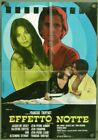 VE59D LA NUIT AMERICANE DAY FOR NIGHT FRANOIS TRUFFAUT ORIG ITALIAN 1SH POSTER