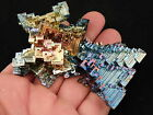 A Huge Pink Blue Purple and Gold BISMUTH Crystal From Germany 1992gr