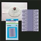 CUTTLEBUG Embossing folders SCALLOPED EDGE All Occasion folder 5x7 lacewedding