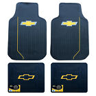 Chevy Bowtie Car Truck Front Back Floor Mats License Plate Frame Seat Covers