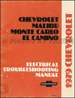 1979 Chevy Electrical Troubleshooting Manual Impala Caprice Classic Chevrolet