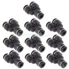 20pcs Tube OD 6mm 1/4'' Y Union Pneumatic Push In Air Line Quick Fittings