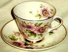 Royal Doulton Cup and Saucer Passion Flower Symbol of Peace H4833 England