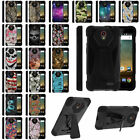 For ZTE Prestige N9132 Dual Layer Protective Case + Built in Stand + Stylus Pen