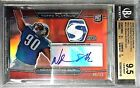 Ndamukong Suh 2010 Topps Platinum Red Patch Auto RC 05 10 BGS GEM MINT 9.5