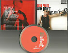 GREG PARYS Why don't we Just fxxk 8TRX RARE CLEAN & EXTEND &MIX& FRENCH PROMO CD