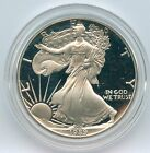 1989 1 Choice Proof American Silver Eagle Complete With Boxes COA and Capsule