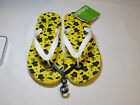 Crocs Chawaii Fruit Flip Lemon relaxed fit M7 W9 flip flops sandals thong