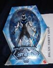 2014 Mattel SDCC TURBO CHARGED MAX STEEL W WEAPONIZE STEEL ACTION FIGURED