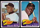 1965 Topps San Francisco Giants Complete Team Set (30) Willie Mays McCovey EX MT