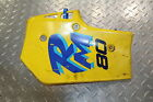 1989 SUZUKI RM80 RM 80 LEFT SIDE COVER PANEL COWL FAIRING