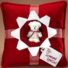 Boyds Harvest & Holiday Kringlebeary's Christmas  Someone Special Present Pillow