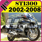 Heyman ABS Fairing Plastic Fit ST1300 2002-2008 02-08 Pan-European Gray H13H39