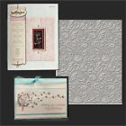 Spellbinders embossing folders FLORAL folder SES 007 Weddingswirls
