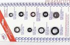 Honda TRX250X 87-88, 91-92  Fourtrax 250X Engine Oil Seal Kit K&S 50-1044