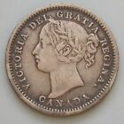 1899 Canada 10 Cent Canadian Victoria Silver Coin