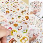 6 Sheet New Kawaii Cute Rabbit Girl Color Decor Diary Sticker Scrapbooking Craft