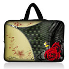 "Rose 13"" Laptop Sleeve Case Bag For 13.3"" Dell XPS Ultrabook /HP Folio/Macb​ook"