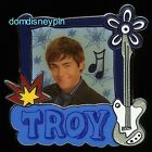 Disney Pin High School Musical Troy Portrait 3D Guitar and Starbursts