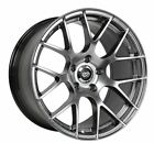 18x85 95 Enkei RAIJIN 5x1143 +35 Rims Fits Nissan 300 350Z IS250 Gs350